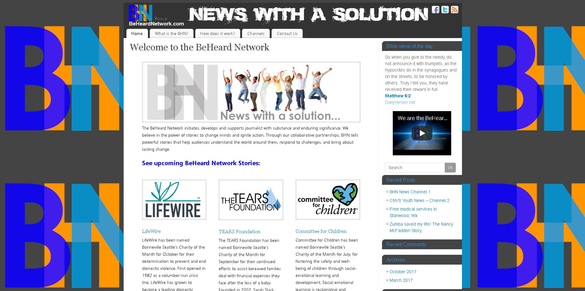 BeHeard Network News